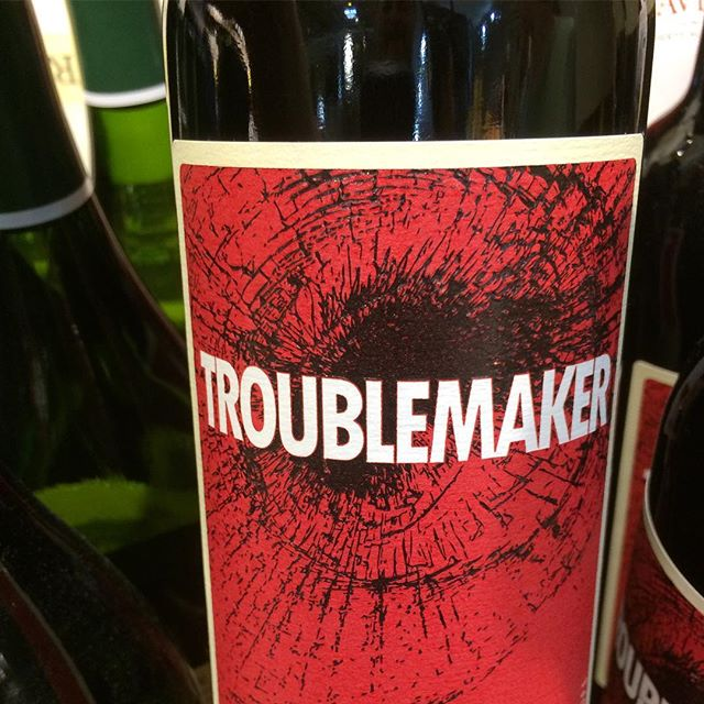 It's time to kick off 31 days of Halloween Wine Labels. Spooky, scary, fun, and thematic. We start with Troublemaker. This one may get opened on mischief night, but makes our list.  Cheers. ⠀