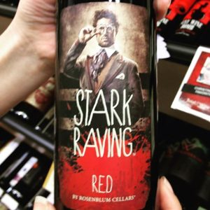 Day 4 of 31 days of Halloween wine labels.