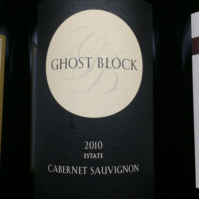 Day 9 of 31 days of Halloween wine labels. Well, this was a no-brainer. It's a  g-g-ghost. Oakville-Napa Cabernet. Follow and share if you are enjoying the labels. Cheers⠀.⠀