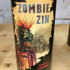 Day 15 of 31 Days of Halloween wine labels. Zombie Zin come rushing in. Zombies are a Halloween staple. Cheers.