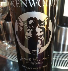 """Day 18 of 31 Days of Halloween wine labels. """"Werewolf, there wolf."""" A classic from Young Frankenstein. This Zin has all the right stuff. ⠀.⠀"""