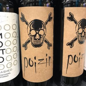 Day 29 of 31 Days of Halloween wine labels.☠️ Skull and crossbones add the perfect look to a bottle labeled Poizin. Spoiler alert it's a Zinfandel. .⠀⠀⠀⠀⠀#halloween #halloweenwine #halloweenwinelabels #holidaywine #skull #crossbones #poizin ⠀#winelabel #winelabels #winebottle #winebottles⠀#redwine #redwinelover #redwine ⠀#wine #wine #wines #winelife #winepic #winetime #winelover #winestagram #winegram #wineplease #winepics #wineday #instawine