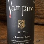 Day 31 of 31 Days of Halloween wine labels.