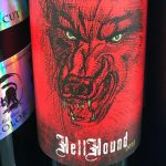 Day 28 of 31 Days of Halloween wine labels.