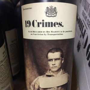 Day 19 of 31 Days of Halloween wine labels.