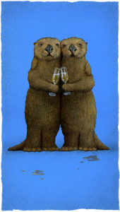New Wine Art by Will Bullas – Significant Otters